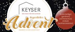 Adventsangebote bei Keyser